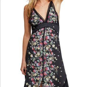 Free People Paradise Floral Maxi Dress Large